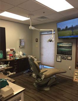 Dental examination room